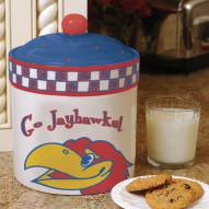 Kansas Jayhawks Gameday Cookie Jar