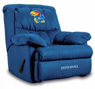 Kansas Jayhawks Home Team Recliner