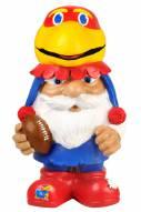 Kansas Jayhawks Mad Hatter Garden Gnome