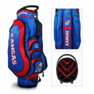 Kansas Jayhawks Medalist Cart Golf Bag