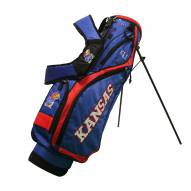 Kansas Jayhawks Nassau Stand Golf Bag