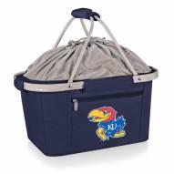 Kansas Jayhawks Navy Metro Picnic Basket