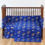 Kansas Jayhawks NCAA Baby Crib Set