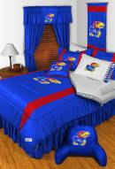 Kansas Jayhawks NCAA Sideline Bed Set