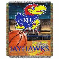 Kansas Jayhawks NCAA Woven Tapestry Throw / Blanket