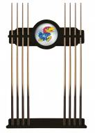 Kansas Jayhawks Pool Cue Rack