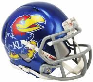 Kansas Jayhawks Riddell Speed Mini Replica Football Helmet