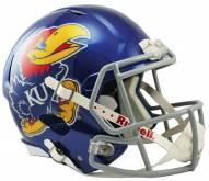 Kansas Jayhawks Riddell Speed Replica Football Helmet