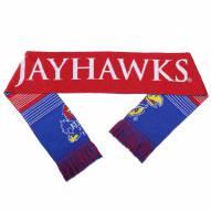 Kansas Jayhawks Split Logo Reverse Scarf