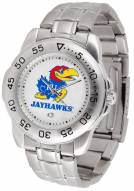 Kansas Jayhawks Sport Steel Men's Watch