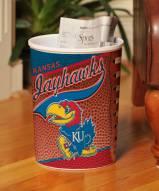 Kansas Jayhawks Trash Can