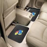 Kansas Jayhawks Vinyl 2-Piece Rear Floor Mats