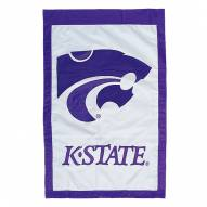 "Kansas State Wildcats 28"" x 44"" Double Sided Applique Flag"