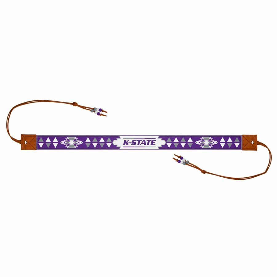 Kansas State Wildcats Beaded Headwrap