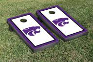 Kansas State Wildcats Border Cornhole Game Set