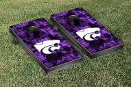 Kansas State Wildcats Fight Song Cornhole Game Set