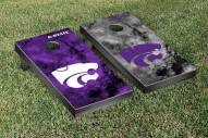 Kansas State Wildcats Galaxy Cornhole Game Set