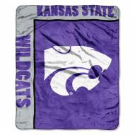 Kansas State Wildcats Jersey Mesh Raschel Throw Blanket