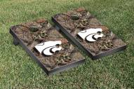 Kansas State Wildcats Mossy Oak Cornhole Game Set