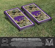 Kansas State Wildcats Operation Hat Trick Cornhole Game Set