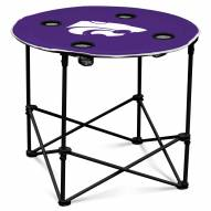 Kansas State Wildcats Round Folding Table