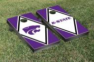 Kansas State Wildcats Split Diamond Cornhole Game Set