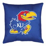 Kansas Jayhawks NCAA Locker Room Toss Pillow