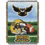 Kennesaw State Owls Home Field Advantage Throw Blanket
