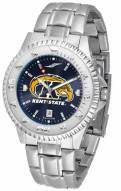 Kent State Golden Flashes Competitor Steel AnoChrome Men's Watch