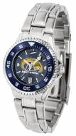 Kent State Golden Flashes Competitor Steel AnoChrome Women's Watch - Color Bezel