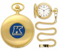 Kent State Golden Flashes Pocket Watch - Gold