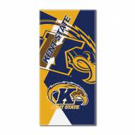 Kent State Golden Flashes Puzzle Beach Towel