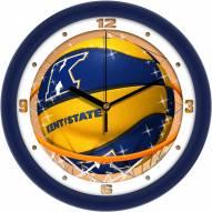 Kent State Golden Flashes Slam Dunk Wall Clock