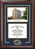 Kent State Golden Flashes Spirit Diploma Frame with Campus Image