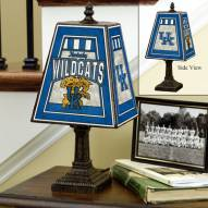 Kentucky Wildcats NCAA Hand-Painted Art Glass Table Lamp