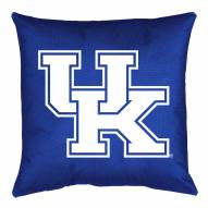 Kentucky Wildcats NCAA Locker Room Toss Pillow