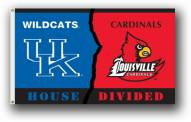 Kentucky / Louisville Premium Rivalry House Divided 3' x 5' Flag