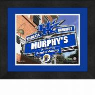 Kentucky Wildcats 13 x 16 Personalized Framed Sports Pub Print