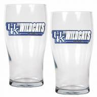 Kentucky Wildcats 20 oz. Pub Glass - Set of 2