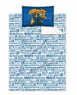 Kentucky Wildcats Anthem Twin Bed Sheets