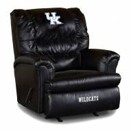 Kentucky Wildcats Big Daddy Leather Recliner