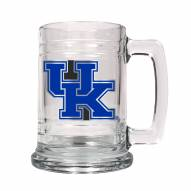 Kentucky Wildcats College Glass Tankard Beer Mug 2-Piece Set