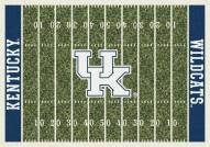 Kentucky Wildcats College Home Field Area Rug
