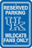 Kentucky Wildcats College Parking Sign