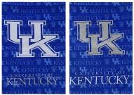 Kentucky Wildcats Double Sided Glitter Flag