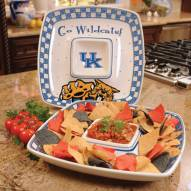 Kentucky Wildcats Gameday Chip N Dip Dish