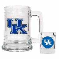 Kentucky Wildcats Glass Mug & Shot Glass Set