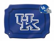 Kentucky Wildcats Glass Rectangle Platter with Charm