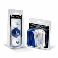Kentucky Wildcats Golf Ball & Tee Pack