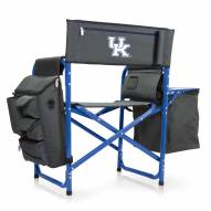 Kentucky Wildcats Gray/Blue Fusion Folding Chair